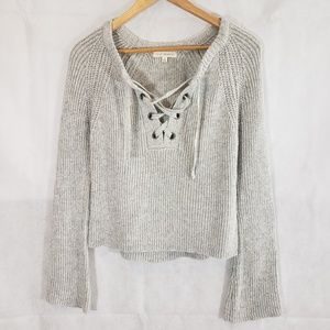 L.A Hearts Front Criss-Cross Sweater